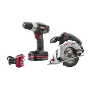 #Craftsman C3 19.2-volt Lithium-ion #Drill and #Circular #Saw 2-piece Combo Kit-featuring a Powerful Drill with Variable Speed Motor That Produces 0-600 Rpm, You'll Be Able to Easily Drive Screws. Read more at: http://toolsforhomeimprovement.com/craftsman-power-tools-the-best-in-the-industry/