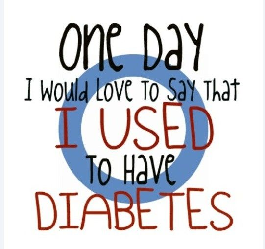 Yes. Diabetes is incredibly difficult to have. And it's not just because of the injections!