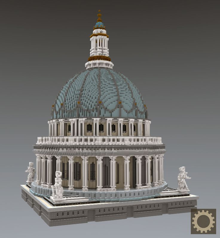 Minecraft Street: Die Kuppel Der St. Paul Kathedrale