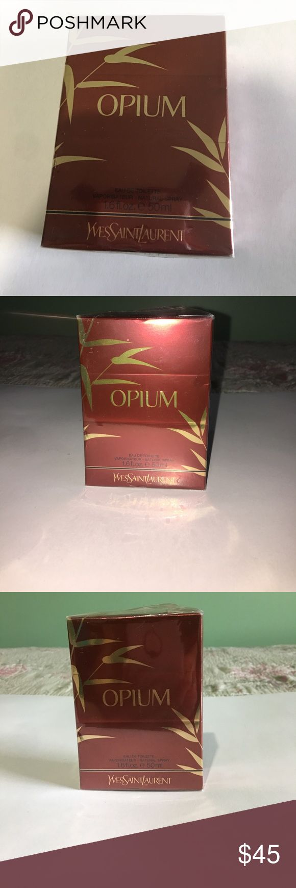 Opium Yves Saint Laurent Opium Yves Saint Laurent Perfume Brand New Still Sealed! Amazing perfume definitely a classic! 1.6 fl. oz. 50ml Yves Saint Laurent Other