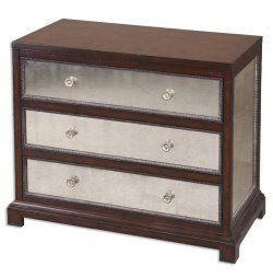 jayne mirrored accent chest [24086]   $763.40   the essentials inside   lamps, clocks, mirrors, furniture, wall art, and home decor accessories