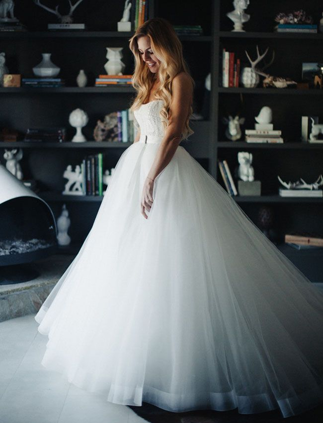 Vesna Gown by Sottero Midgley, with a custom made removeable tulle skirt by Casa Bianca...beautiful!