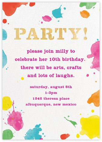 106 best kate spade new york x Paperless Post images on Pinterest - fresh invitation card for birthday online