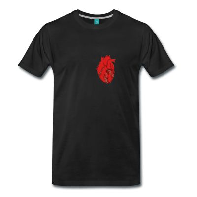 wear your heart on your chest, rather than on your sleeve.