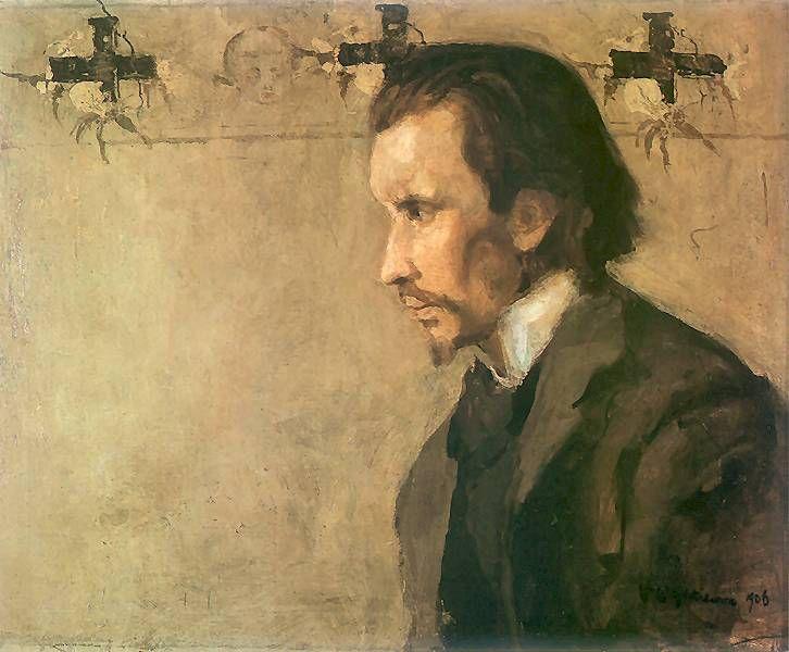 Portret muzyka Zygmunta Skirgiełły.