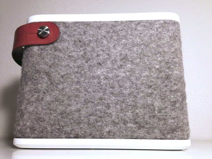 Picture of Small Portable Speaker Covered With Wool