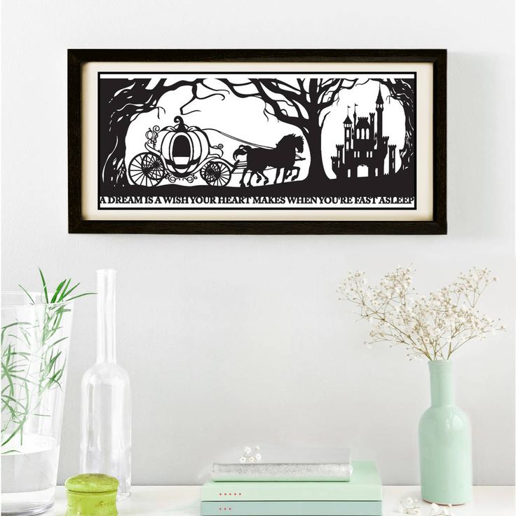 Are you interested in our signed papercut print? With our fairytale print you need look no further.