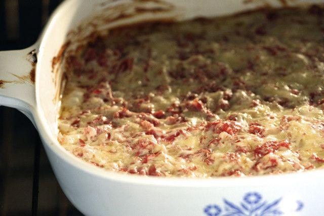 Reuben Dip ~ Another: http://www.bettycrocker.com/recipes/cheesy ...