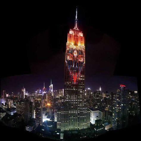 Kali Ma empire state building NYC . Кали Ма эмпайр стейт билдинг Нью-Йорк
