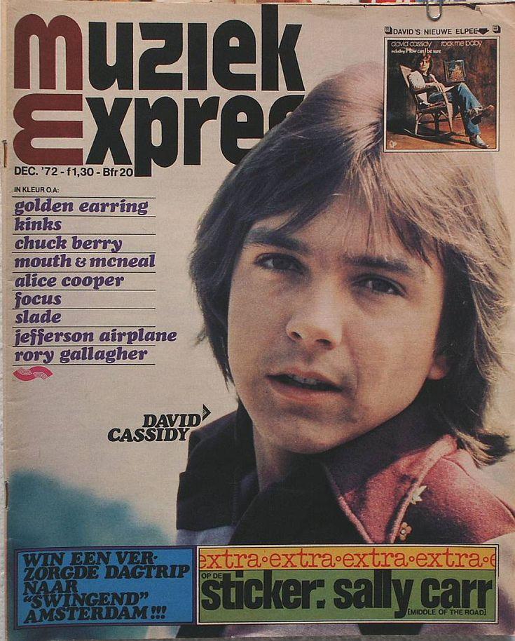 De Muziek Express, samen met Popfoto en Muziek Parade in de jaren 70 de bladen voor fans van Top 40 artiesten.