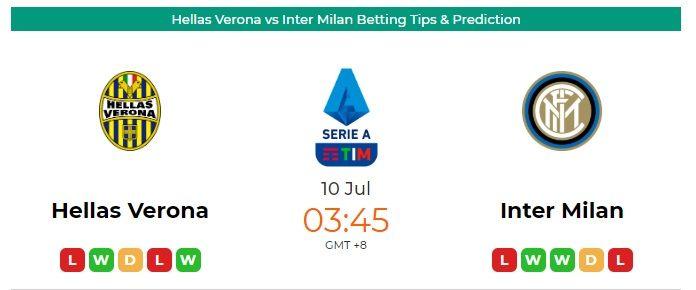 Hellas Verona Vs Inter Milan Betting Tips Prediction In 2020 Inter Milan Milan Football Predictions