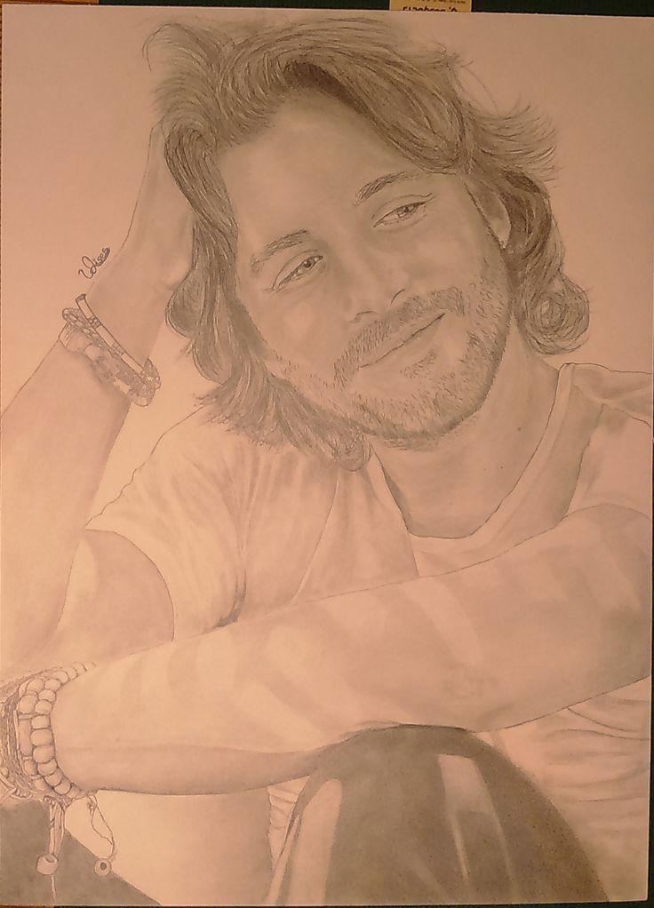 Dibujo a lapiz Manuel Carrasco
