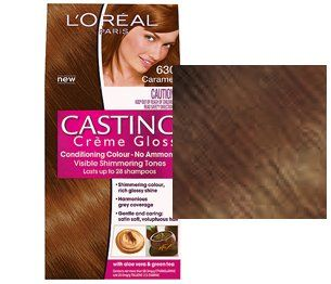 loreal casting crme gloss caramel 630 - Coloration Miel Ambr