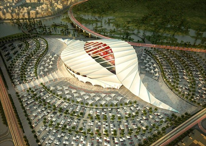 World Cup 2022 Qatar S Stadiums In Pictures Qatar Stadium World Cup 2022 World Cup Stadiums
