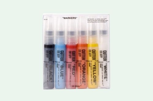 Off White Collaborates With Grog On A Marker Set Markers Set Markers Grog