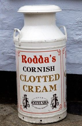 Rodda's clotted cream - always makes for the perfect Cornish cream tea and scones - loves it!  Still sooo hard to get in the USA ...