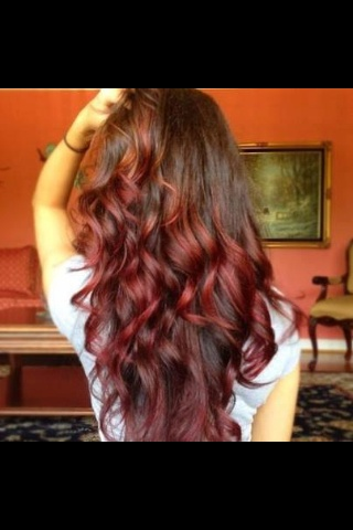 Want this hair! RED!