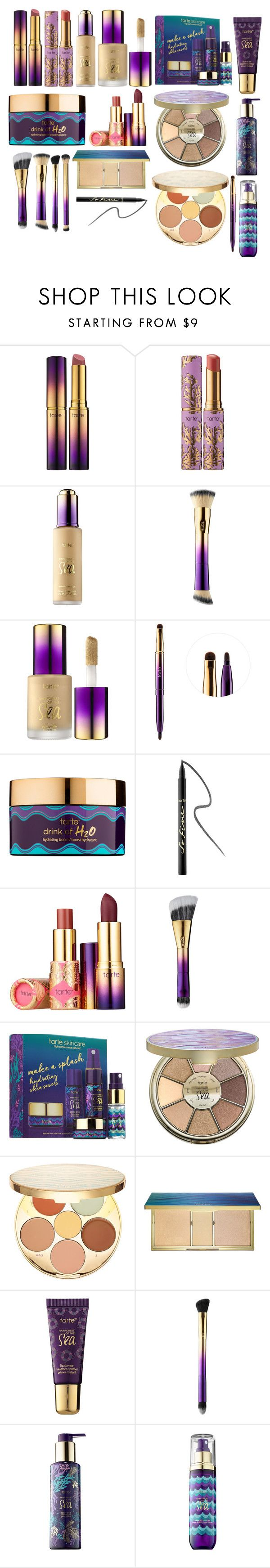"""""""Tarte Rainforest of the Sea Collection"""" by annabankesterbeautyblogger on Polyvore featuring beauty and tarte"""
