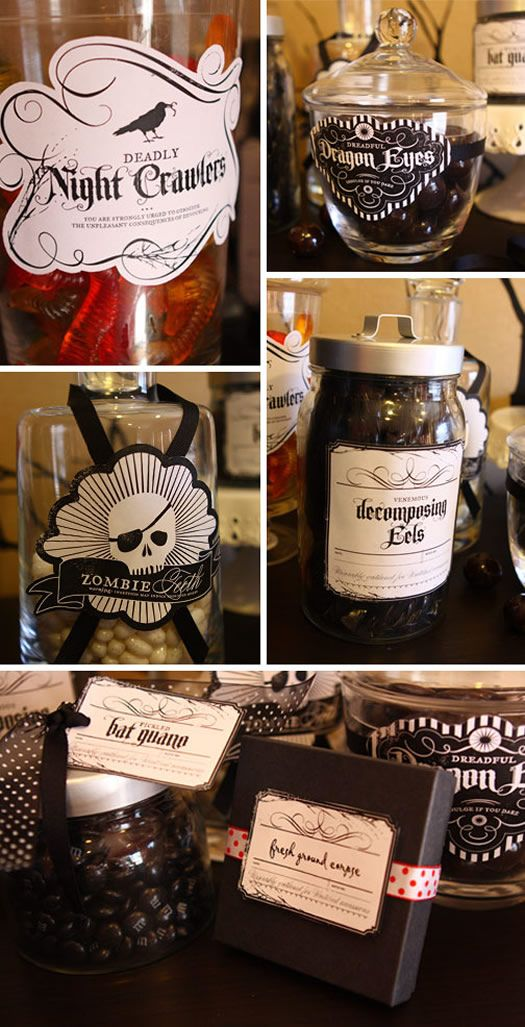 Spooky Halloween Labels (ForFree!)