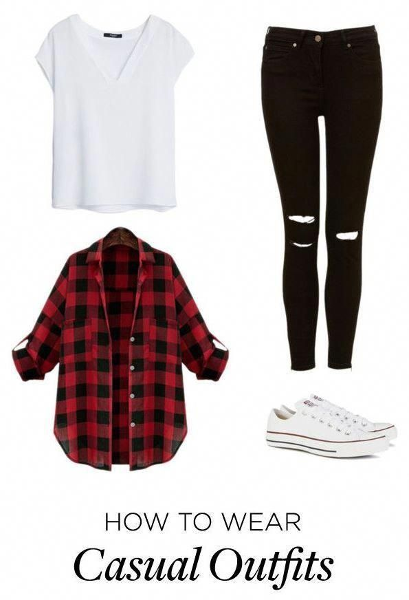 Outfits für die Schule 5 beste Outfits #bestcasualoutfits