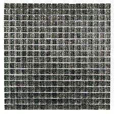 Chromatic Silver 15x15mm Mosaic Tile