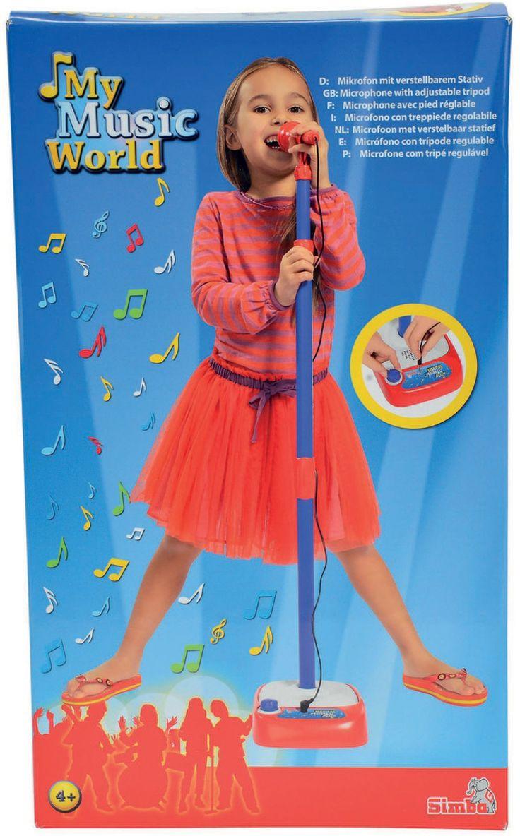 My Music World Mikrofon med Stativ Singalong