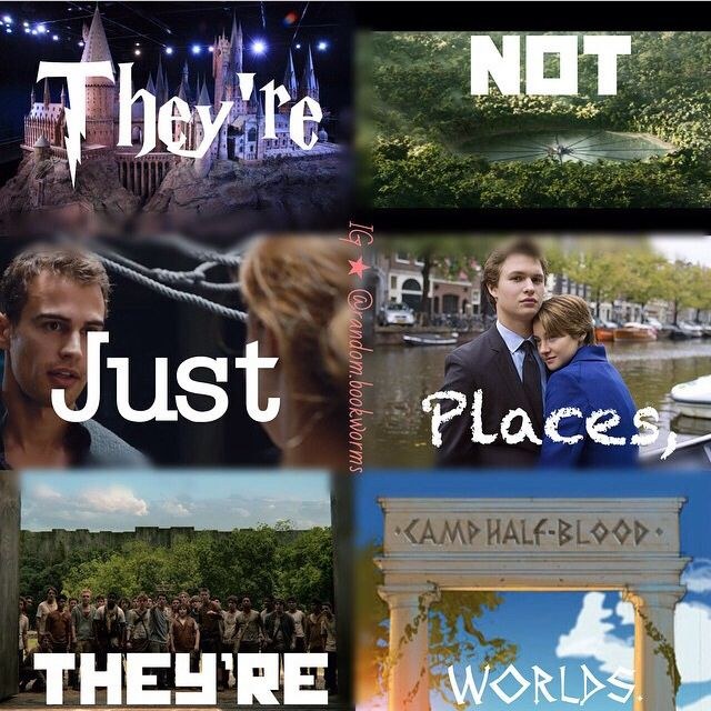 Harry Potter - The Hunger Games - Divergent - The Fault In Our Stars - The Maze…