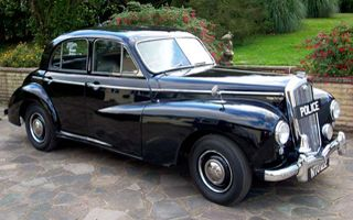 1951 Wolseley 6/80 Police Car