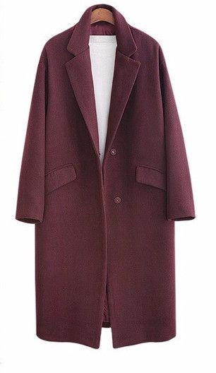 Padded Wool Overcoat