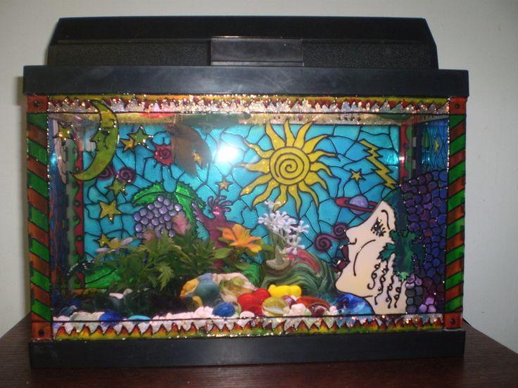 38 best 3d background aquariums images on pinterest for Fish tank background ideas