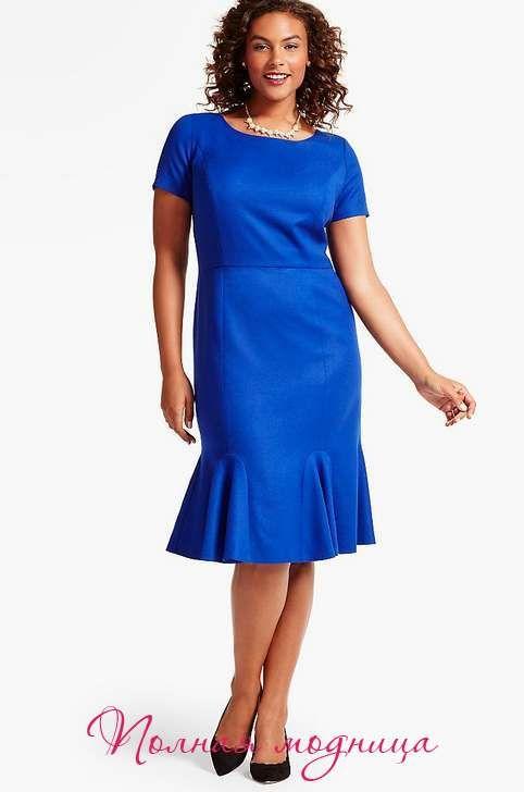 Коллекция платьев для полных женщин американского бренда Talbots, осеннь-зима 2016-2017