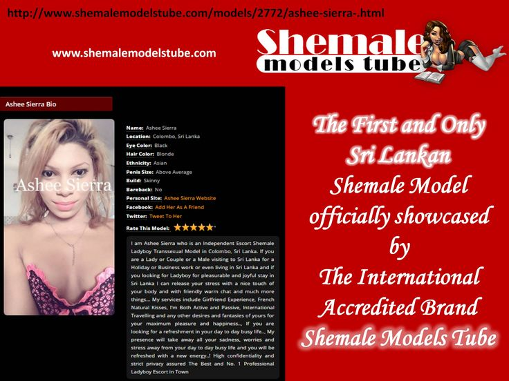 First & Only Sri Lankan in Shemale Models Tube