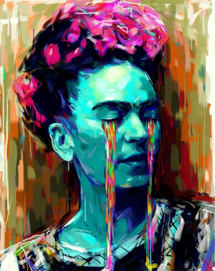 """I hope the exit is joyful and i hope never to return.""  ― Frida Kahlo  Frida Kahlo by ~ Natmir on deviantART"