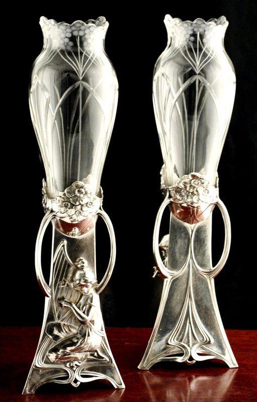 1469 best art nouveau art deco images on pinterest art for Vase antique romain