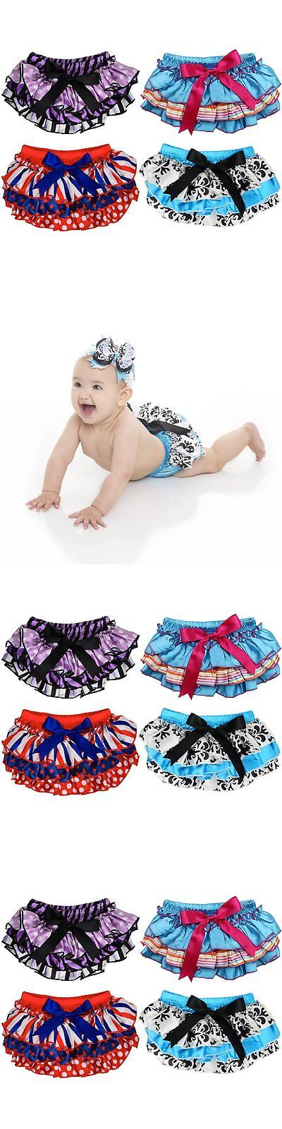 Diaper Covers 26267: Judanzy Satin Baby Ruffle Bloomers Diaper Covers In A Variety Of Colors And Sizes -> BUY IT NOW ONLY: $66.07 on eBay!