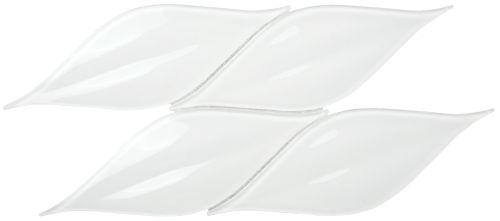 Passion 3D Crystal Glass Super White Glossy Mosaic | EVERSTONE Australia