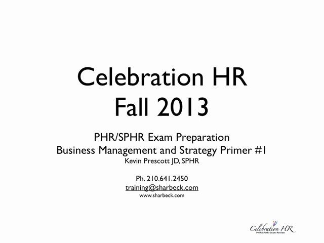 36 best PHR Study images on Pinterest Human resources, College - hr plan template