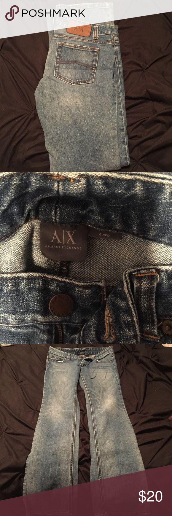 Super comfy a/x jeans Super comfy Armani exchange blue jean A/X Armani Exchange Jeans Boot Cut