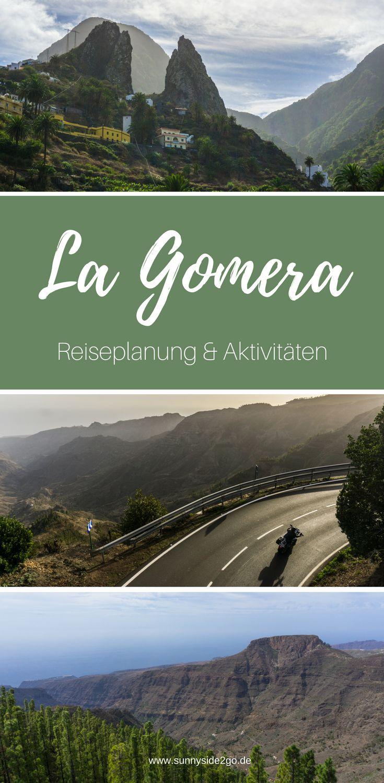 Reiseplanung und Aktivitäten für die kanarische Insel La Gomera