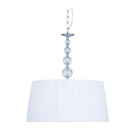 Ver lámparas de techo colgantes modernas con pantallas de tela blanca de diámetro 35 y 45 cm. Disponible en blanco y beige. Envío rápido y seguro.