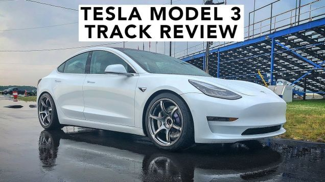 Heres What Tire Suspension And Brake Upgrades Can Do For The Tesla Model 3 Tesla Tesla Model Tesla Car