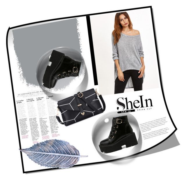 """""""shein 2/10"""" by majaa12 ❤ liked on Polyvore"""