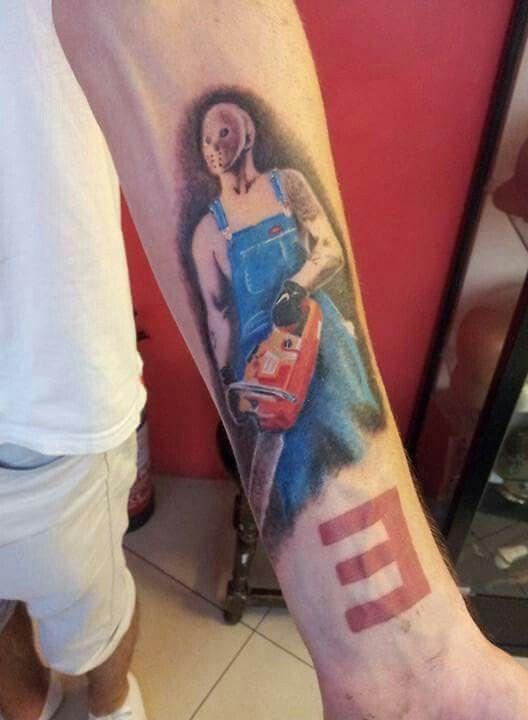 Eminem Tattoo #8 Chainsaw | Body Mod | Pinterest | Eminem ...