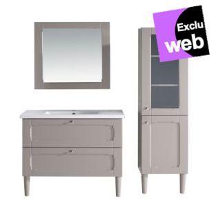 meuble de salle de bain alinea le meuble complet classic sous vasque vasque - Alinea Salle De Bain Accessoires