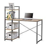 Shop Staples® for Homestar Desk with built in 4-Shelf Bookcase, Natural Wood and enjoy everyday low prices, and get everything you need for a home office or business.