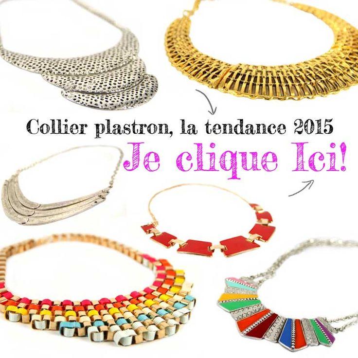 Charming Bijou A La Mode #8: Acheter Un Collier Plastron Pour Femme - Conseils Du0027achat