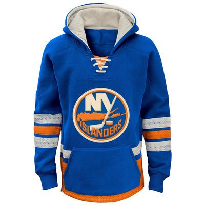 New York Islanders Reebok Youth Retro Skate Hoodie - Royal