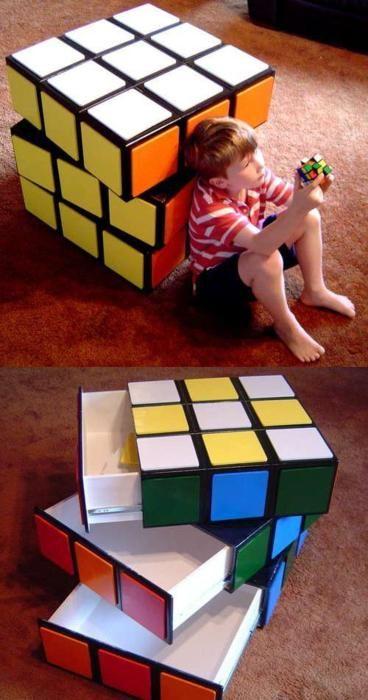 Rubiks cube drawers