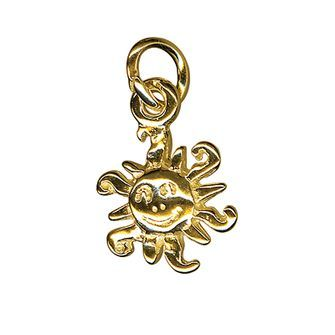 Buy our Australian made Sun Charm - chr-2199 online. Explore our range of custom made chain jewellery, rings, pendants, earrings and charms.