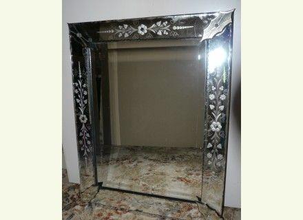Miroir venitien 70 x 55 miroir pinterest ps for Miroir venitien